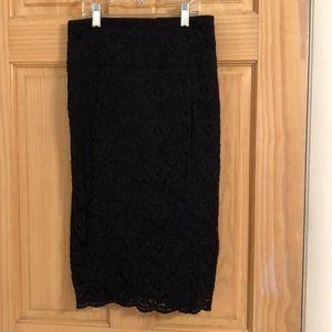 Black lace work wear skirt! 🖤